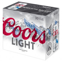 Coors Light - 30 can