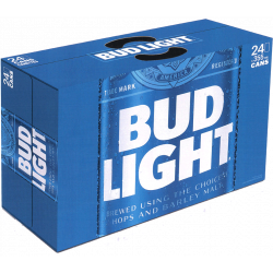 Bud Light -24 cans