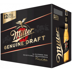 Miller Genuine Draft - 12...