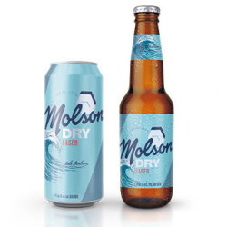 Molson Dry - 8 Cans