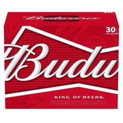 Budweiser - 30 Cans